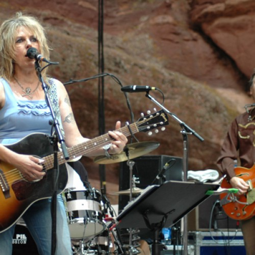 Lucinda Williams at Red Rocks Ampitheatre, Morrison, Colorado