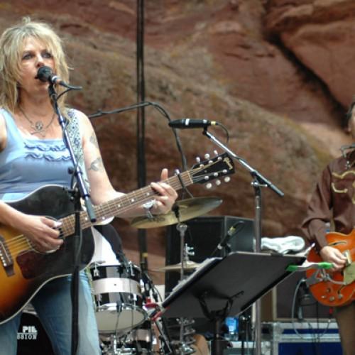 Lucinda Williams at Red Rocks Ampitheatre, Morrison, Colorado