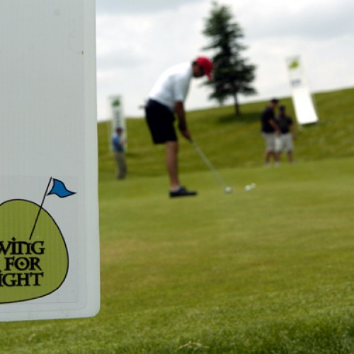 Swing for Sight Tournament for Foundation Fighting Blindness in Littleton, CO.
