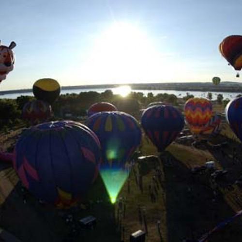 Rocky Mountain Hot Air Balloon Festival in Littleton, CO.