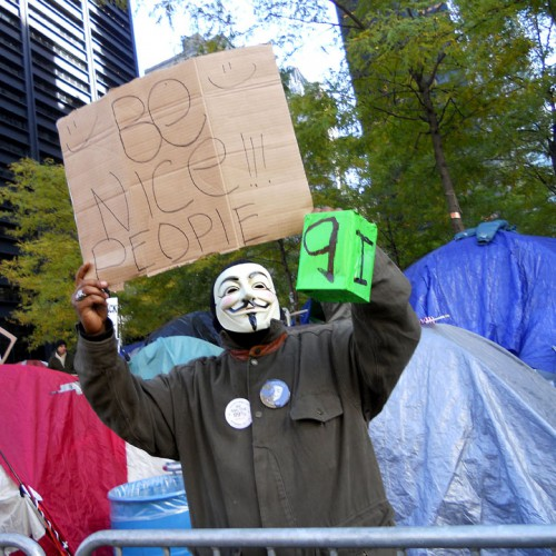 Occupy Wall St. (NYC) 2011