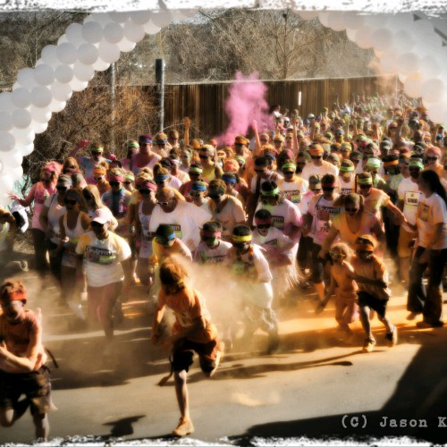 Graffiti Run Denver