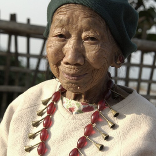 Grandmother - Yimjenkimong Village, Nagaland, India