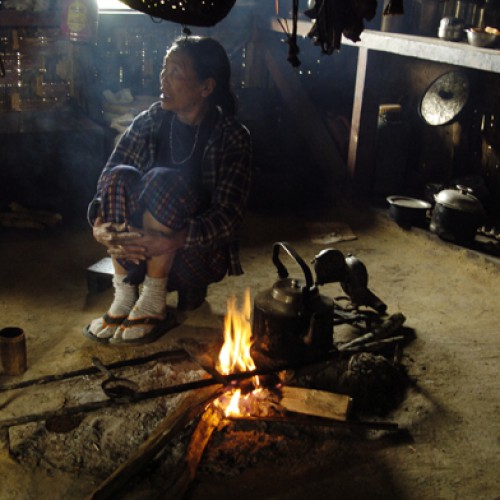 The Kitchen - Yimjenkimong Village, Nagaland, India