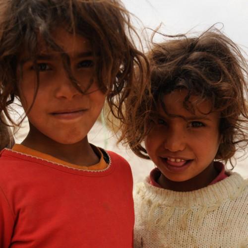Bedouin children - Near Mount Nebo, Jordan